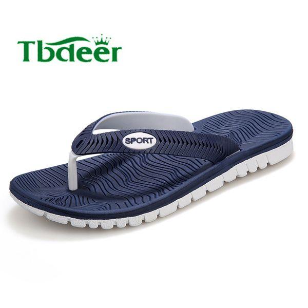 Wholesale-Men Flip Flops New 2016 Summer Men Sandals Highquality Soft Beach Flip Flops EVA Massage Slippers For Men's sandals