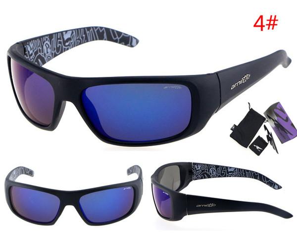 Al por mayor-2016 marca famosa arnett gafas de sol gafas gafas hombres gafas de sol UV400 marca de la mujer gafas de diseñador con caja original del paquete