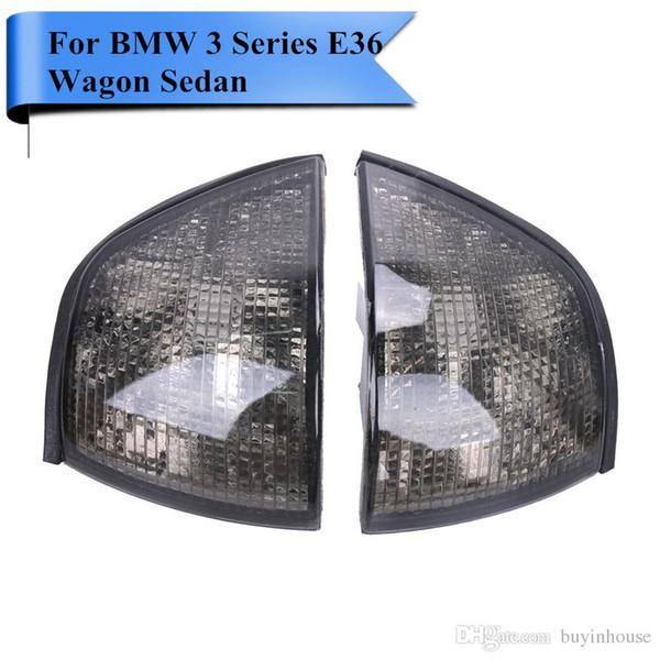 2x Car Corner Lights Side Turn Signals Lamps Sidelights 1991 - 1998 For BMW 3-Series E36 Wagon Sedan 318i 328i 320i 325i M3 #P413