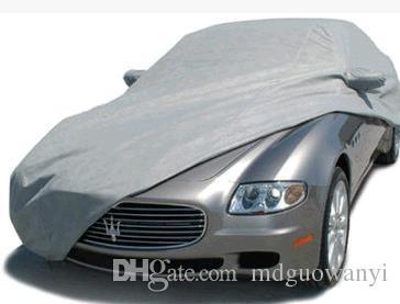 100M/LOT Cheap high quality 190T polyester taffeta silver car garment cloth car cover fabrics