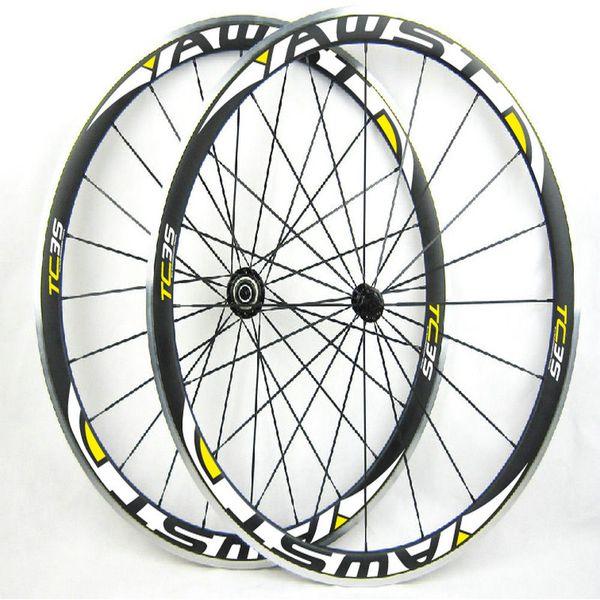 Powerway R13 hubs Carbon road bike wheels clincher C35 alloy brake surface Carbon alloy Wheels 38mm Rims carbon alloy wheelset 700c rims