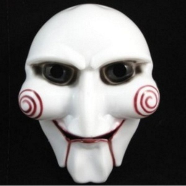 Halloween Party Mask Scary Full Face Masquerade Saw Puppet Halloween Gift Costume Fancy Ball Masks for Christmas Day Men Adults