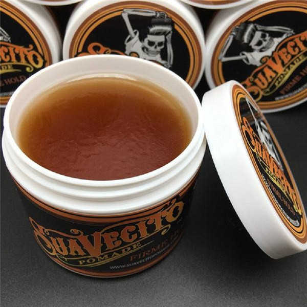 top popular Suavecito Pomade Strong style Restoring Ancient Ways Hair Slicked Back Hair Oil Wax Mud Best Hair Wax Very Strong Hold 2019