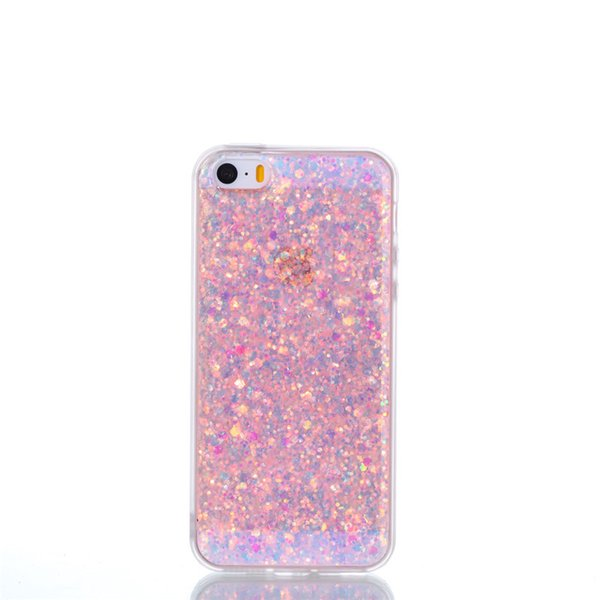 Fashion Flash slice Phone Case For Coque iPhone 5S Cover Acrylic Soft TPU silicon Mobile Phone Case For Fundas iPhone SE
