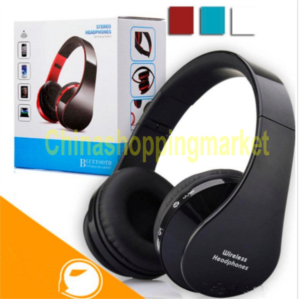 V3.0 Bluetooth Wireless Headphone Foldable Hi-fi Stereo Earphone Headset for Smart Phones With Retailbox Headsets with mic