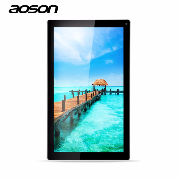 Wholesale- Aoson M1016C 10.1 inch Tablet PC 2016 Cheap Tablet PC Quad Core Wifi 1GB RAM+8GB ROM Dual Camera Android 4.4 Tablette