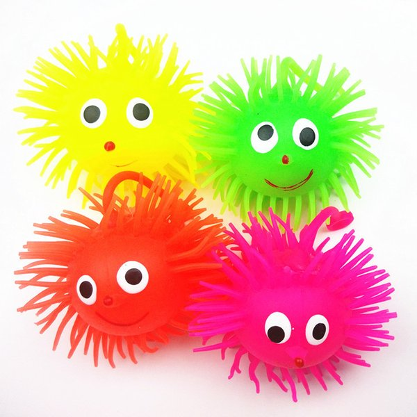 Flash Maomao / hedgehog luminoso colorido juguetes novedad mercado puesto productos por mayor