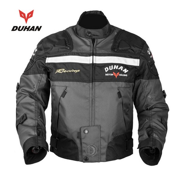 DUHAN Motorcycle Riding Armor Motocross Off-road Racing Jacket Men Rider Clothes Motorcycle Protector for Winter and Autumn
