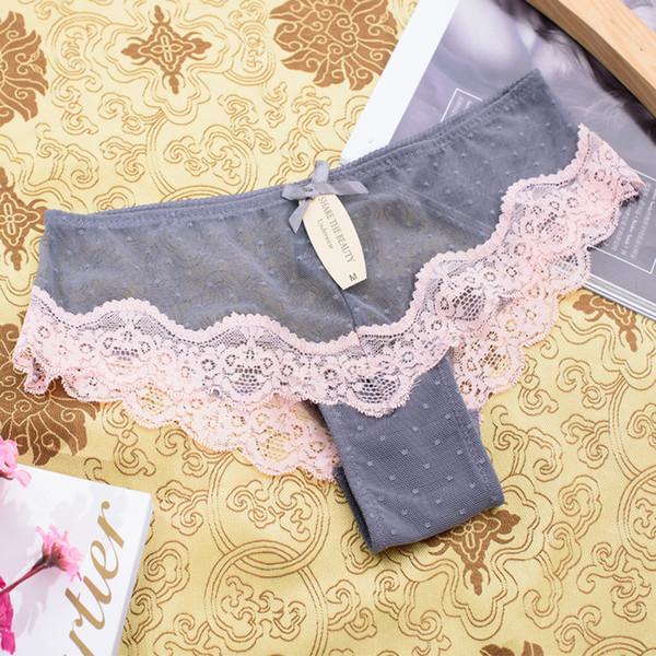Sexy Women Cotton Lace Seamless Underwear Hot Sale 2017 Women T Panties G String Women's Briefs Calcinha Lingerie Tanga Thong