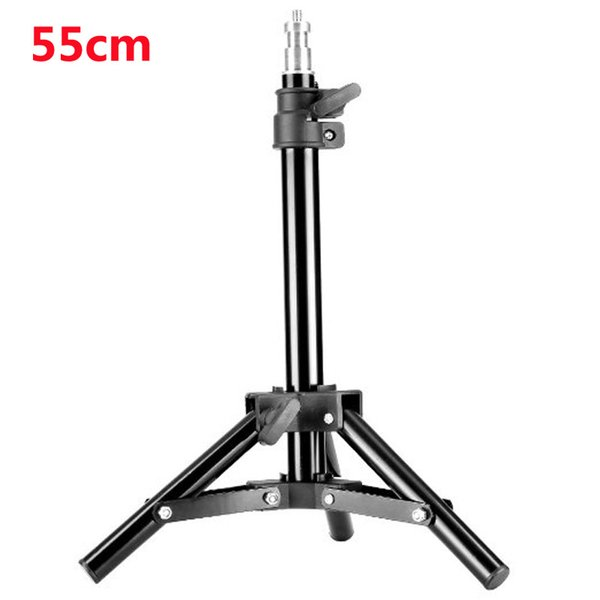 Wholesale- 55cm Light Stand Photography Studio Lamp Light Stands Tripod for Flash Umbrella Softbox Photo Studio Accessories Hot Selling