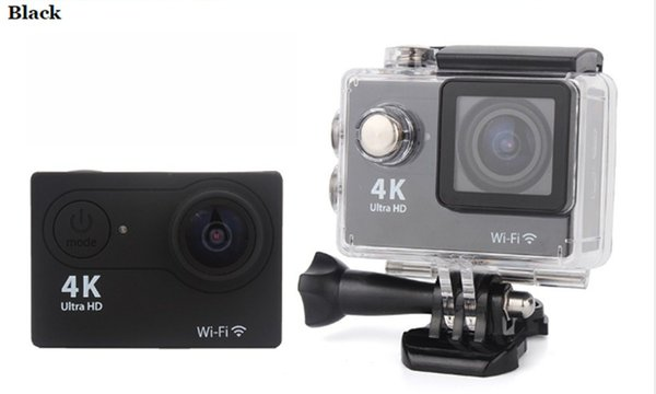 best selling Ultra HD 4K H9 WIFI Action Cameras 1080P 2 inch LCD 170D Sports Video DVR Camera Camcorders Helmet Cam 10PCS LOT