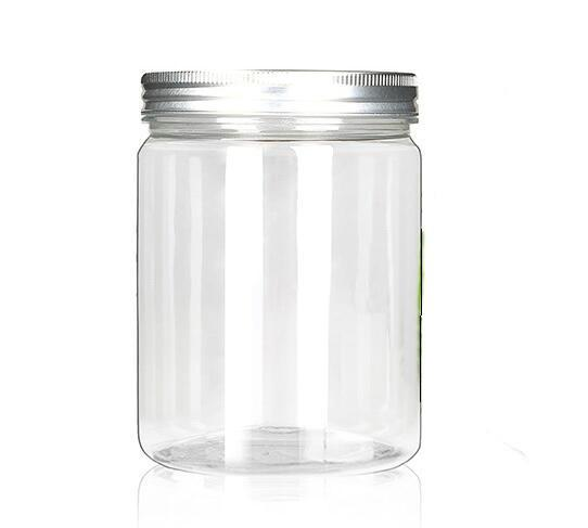 Empty Cosmetic Containers Bottle 80g 100g 120g Contenitori Cosmetic Jar Envases Plastico Garrafa Plastic Jars With Lid Makeup Storage