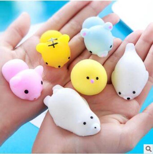 Squishy Slow Rising Jumbo Toy Bun Toys Animales Cute Kawaii Squeeze Cartoon Toy Mini Squishies Cat Squishiy Moda Rare Animal Regalos Nuevo