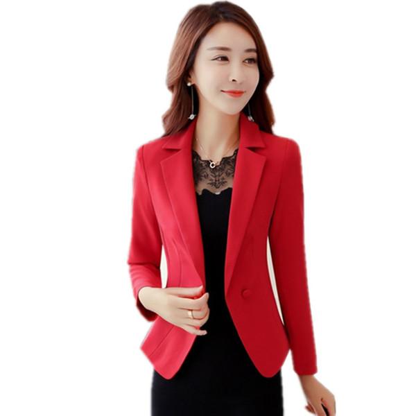 2019 OL Style Women Blazers And Jackets 2017 Womens Blazer Suit Slim Fit Coat Long Sleeve Suit Jacket Plus Size Blaser Femenino BZ007 From Mark198976,