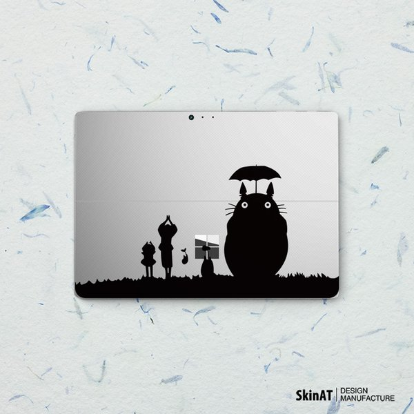 """The classic black and white chinchilla tablet computer stickers for Apple MacBook Pro Air Mac 11""""13""""15"""" Laptop Skins Sticker"""