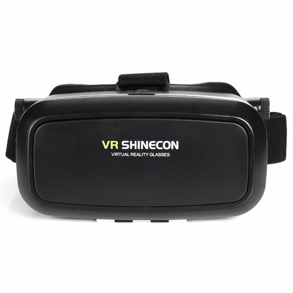 VR Shinecon VR Realtà Virtuale Occhiali 3D Real Casco Cardboard Mobile Cinema Cinema 3D per iPhone Samsung 4.0 -6 pollici Smartphone