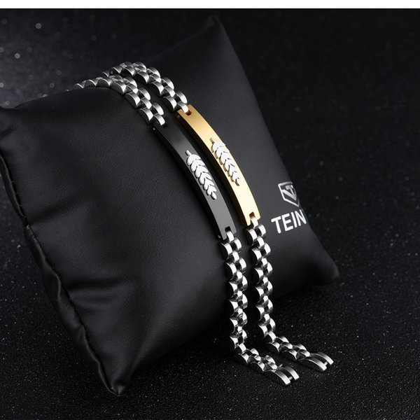 Free shipping promotional sale *Brand new Christmas gift men's 316L stainless steel bracelet jewelry boy's bracelets boy's gift