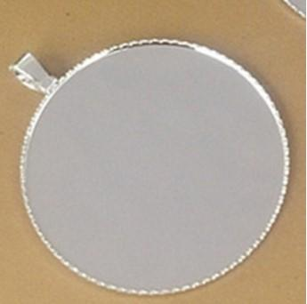 Silver Plated 20MM Blank