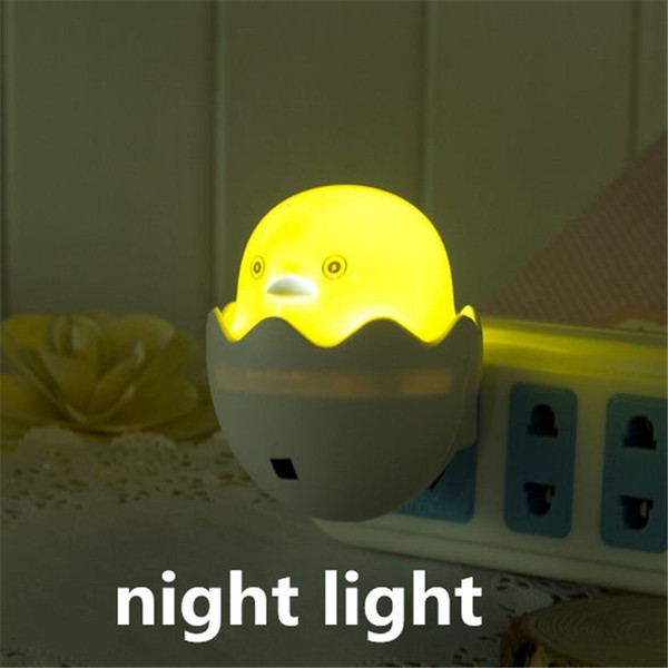 top popular Creative chicken wall lamp light LED wall lighting Mini Night Light Changing LED Night Light Lamp Home Room Decorations kid415 2021