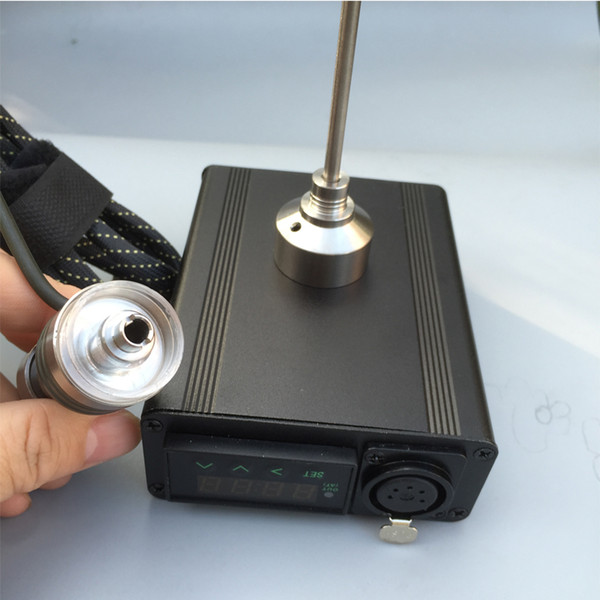 Boîte à clous Dab Electric Dab Nail quartz banger verre PID kits numériques outil cire Titane 16 20mm 10mm chauffe-bobine