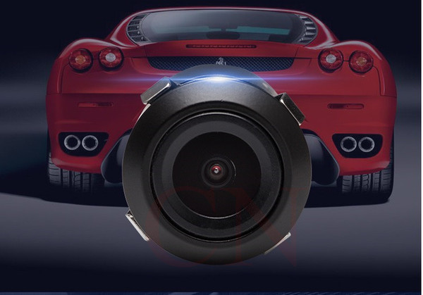 Mini Wide Viewing Angle Waterproof Reverse Backup CCD Car Front / Rear View Camera 480 TV Lines
