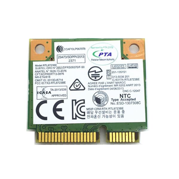 Wholesale New For Realtek RTL8723BE 300M 802 11b/G/N Bluetooth 4 0 04W3813  MINI PCI Express Network Card For E540 E440 S440 S540 Usb Rj45 Adapter Usb