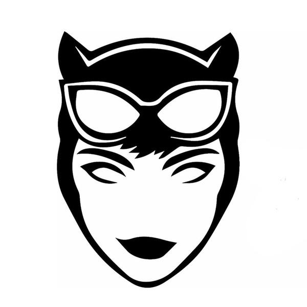 Acheter Dessin Animé Héros De Film Sexy Tentation Catwoman Autocollant De Voiture Pour Vus Pare Chocs Moto Ordinateur Portable Kayak Voiture Style
