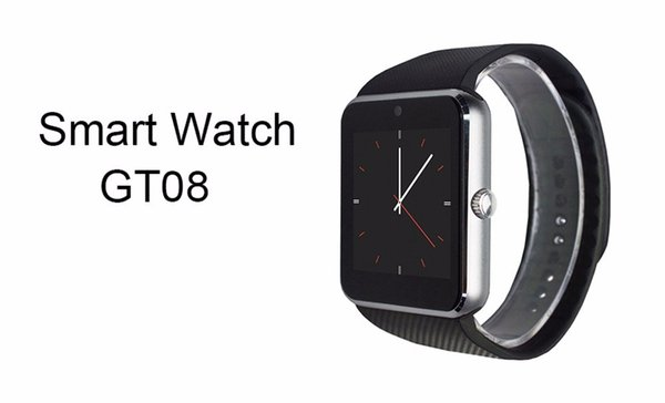 Popular GT08 smart watch Clock Sync Notifier with Sim Bluetooth Smartwatch for Apple IOS huawei Samsung Android Phone PK DZ09 A1