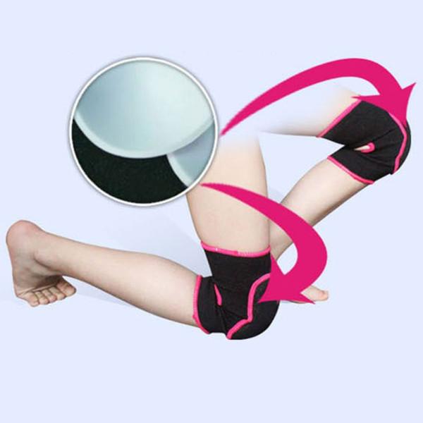 Atacado-Infantil Criança Meninos Meninas Algodão Esportes Joelho Cap Treinamento de Dança Soft Knee Pad