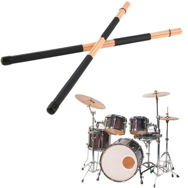 top popular High Quality WoodenHot Rods Rute Jazz Drum Sticks Drumsticks 40cm 2021