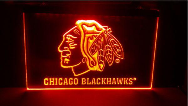 Chicago Bar Beer NEW carving signs Bar LED Neon Sign home decor crafts