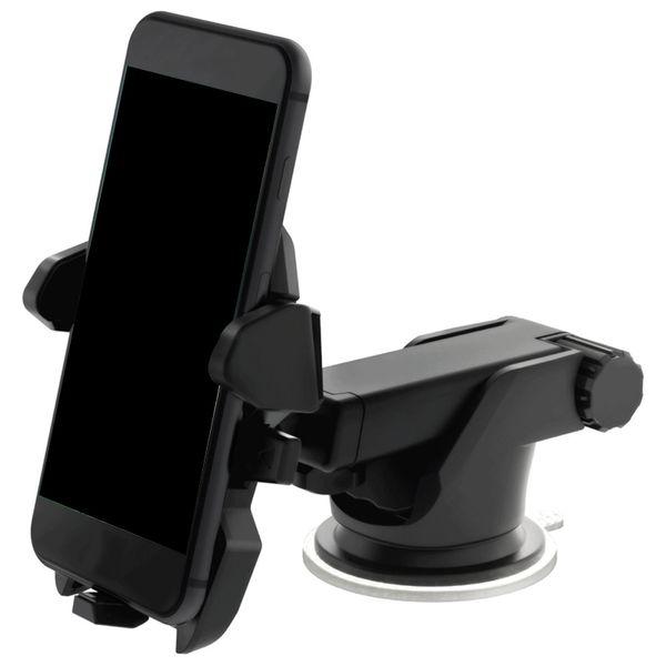 2017 Universel Mobile Téléphone De Voiture Titulaire 360 Degrés Réglable Fenêtre Pare-Brise Dashboard Titulaire Stand Pour Tous Les Cellulaires GPS Titulaires 100 pcs