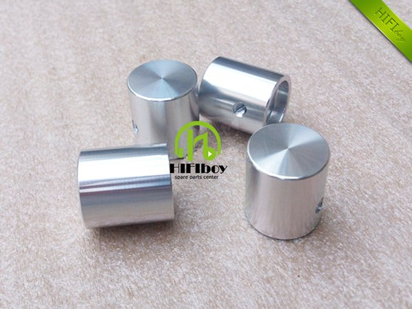 HIFI Aluminum Volume knob 10pcs Diameter 20mm Height 22mm amplifier knob speaker knob