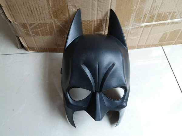 Dark Knight Adult Batman Mask Mardi Gras Party Mask Costume Decoration Costume Masquerade Theme (Black) One Szie Fit Most Adult