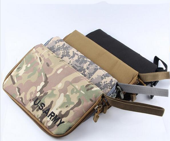 Airsoft Tactical Portable Handgun Holster Pistol Carry Bag Pouch Pistol Hand Gun Custodia morbida 4 colori