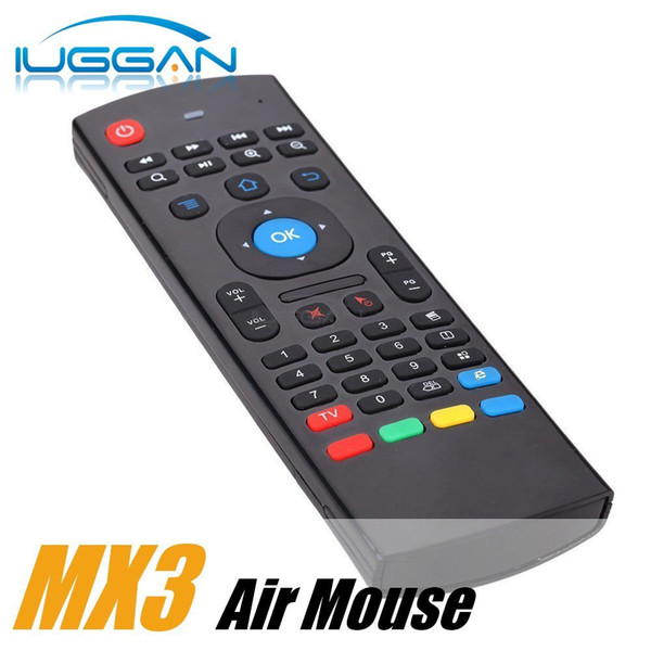 X8 Air Fly Mouse MX3 2.4GHz Wireless Keyboard Remote Control IR Learning 6 Axis for M8S T95 MXQ 4K Pro Plus Box