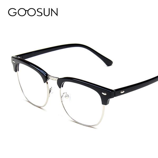 f57e6885a Atacado-Alta qualidade Vintage Óculos Mulheres Designer De Marca Masculino  Clássico Óculos De Armação De