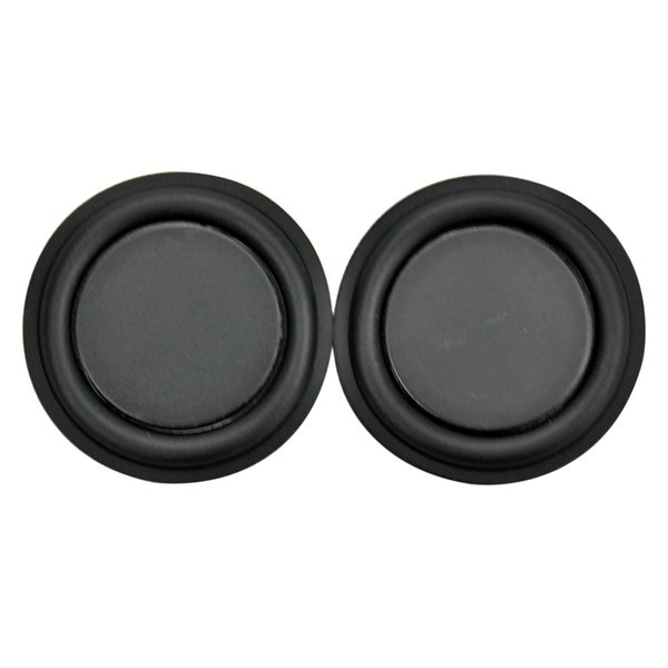 Wholesale- 2pcs 45mm stereo strengthen bass speaker vibration Membrane Diaphragm