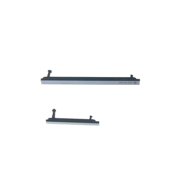 Sony Xperia Tablet Z için USB Şarj Portu Toz Fiş + Mikro SD Sim kartları Sony Xperia Z2 Tablet Için Jack Port Yuvası Kapak SGP521