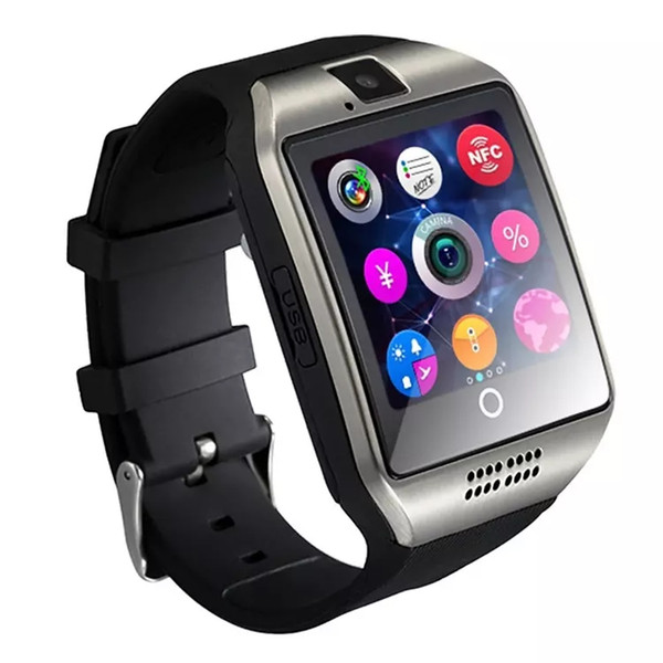 best selling Q18 smart watch watches bluetooth DZ09 smartwatch Wristwatch with Camera TF SIM Card Slot   Pedometer   Anti-lost   for smart phone SB-Q18