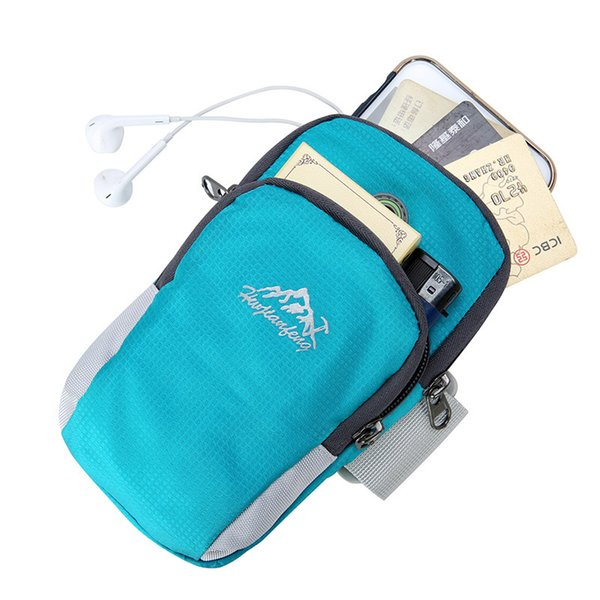 Arm Bag Running Bags Jogging Music Phone Waterproof Outdoor Nylon Armband Sports Camping Key Card Cash Nylon Bag