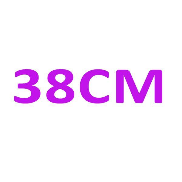 브랜드 홀 마크가있는 더블 38CM
