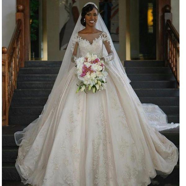 Elegant Princess Wedding Dresses