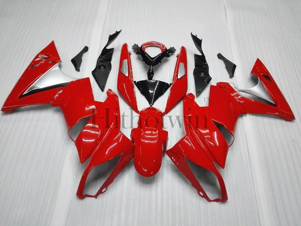 Aftermarket ABS Plastic Fairing For Kawasaki ER6 2009 ER 6 09 red Bodywork set
