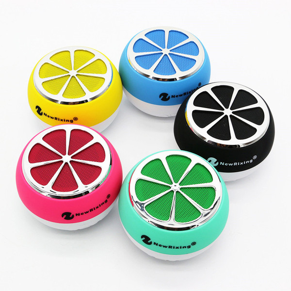 Neuester Art-Zitronen-Form-drahtloser Bluetooth-Lautsprecher-Miniportable draußen MP3-faszinierender Zitronen-Lautsprecher mit FM-Radio-Unterstützungs-TF-Karte playe