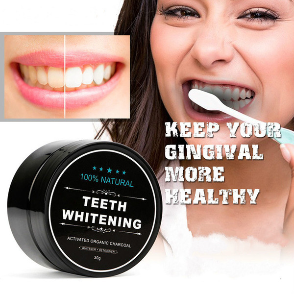 best selling New Arrivals Teeth Whitening Powder Natural Organic Activated Charcoal Bamboo Toothpaste Unique Active Formula 2017 Anne