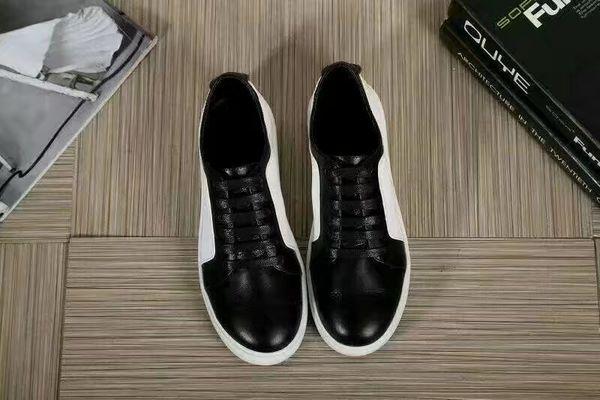 2017 grande stile europeo di lusso nuove scarpe classiche scarpe casual, tomaia in pelle morbida di colore cuoio tomaia in gomma solida