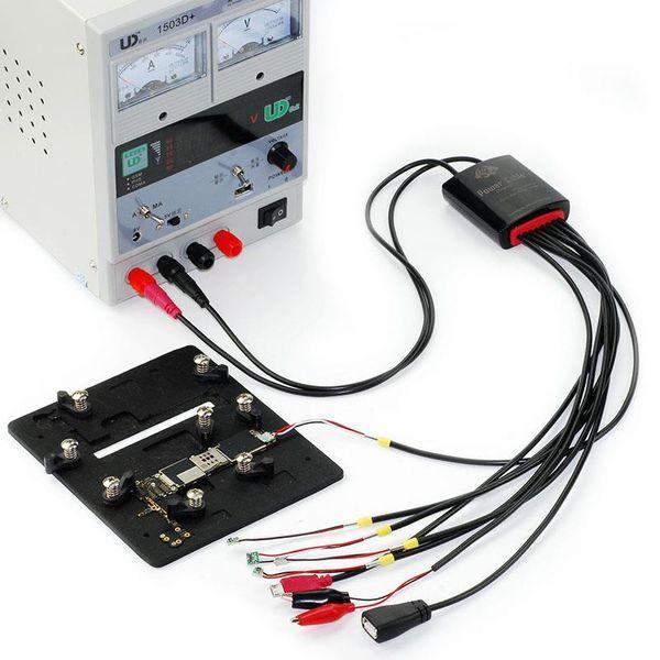 Freeshipping original ic serviço dedicado cabo de alimentação para iphone 7 7 plus 6 s para samsung bota linha de teste linha linha de fornecimento de energia dc regulada