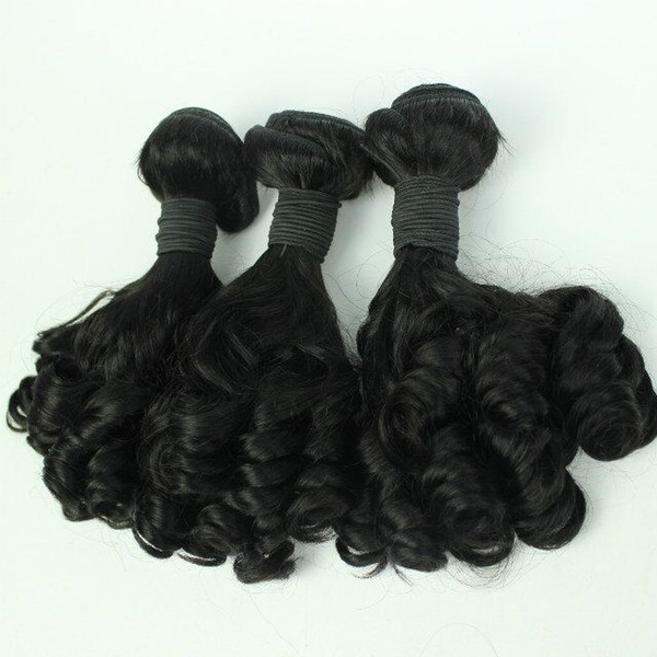 Best qualityBrazilian Human Hair Weaves Bundles Unprocessed Brazillian Peruvian Indian Malaysian loose wave Hair Extensions Natural Black
