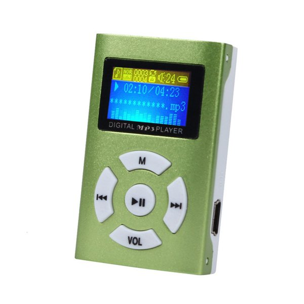 Wholesale- B13 Mecall New Hot mp3 player fiio USB Mini MP3 Player LCD Screen Support 32GB Micro SD TF Card